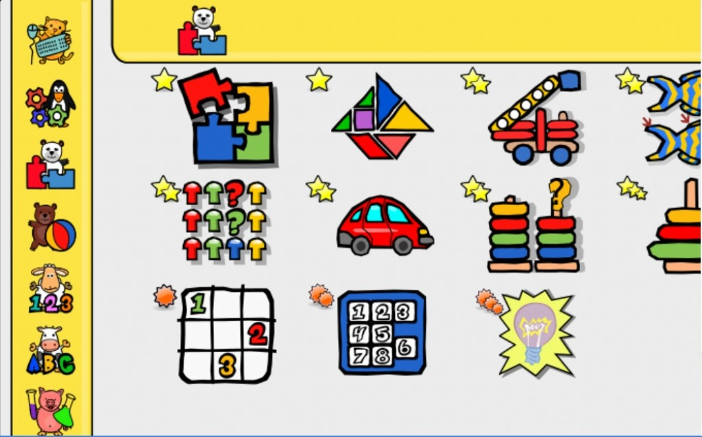 Gioco didattico per bambini da 2 a 10 anni gcompris for Giochi per bambini di 2 anni