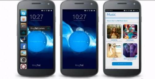 Ubuntu per i telefonini smartphone, previsto per il 2014, presentazione al CES di Las Vegas