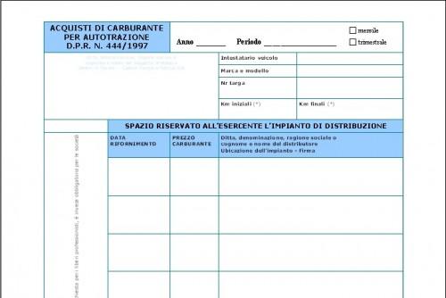 Modelli Documenti Open Office Spese Carburante Template