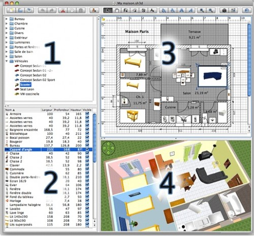 Sweet home 3d programma open source per la progettazione d for Programma per progettare interni