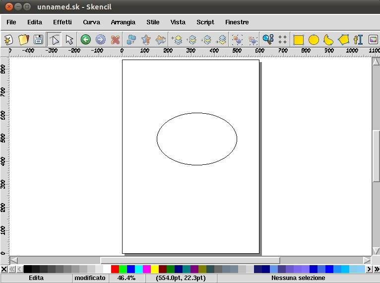 Skencil programma open source per il disegno vettoriale for Programma di disegno software